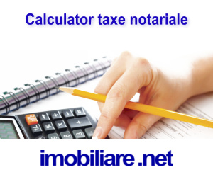 Calculator taxe notariale